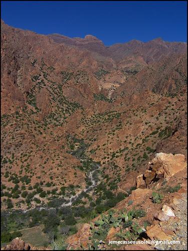 Jebel Lekst en allant sur Tagdicht
