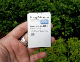 Baterai Sony Ericsson BST-41 Original 1500mAh Xperia Play Aspen X10