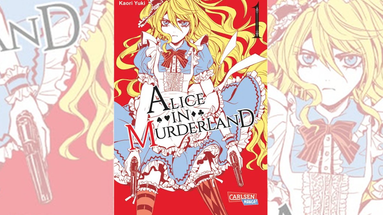 Manga Highlights 2017, Alice in Murderland (Carlsen)