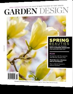 Garden Design Magazine- Spring 2017