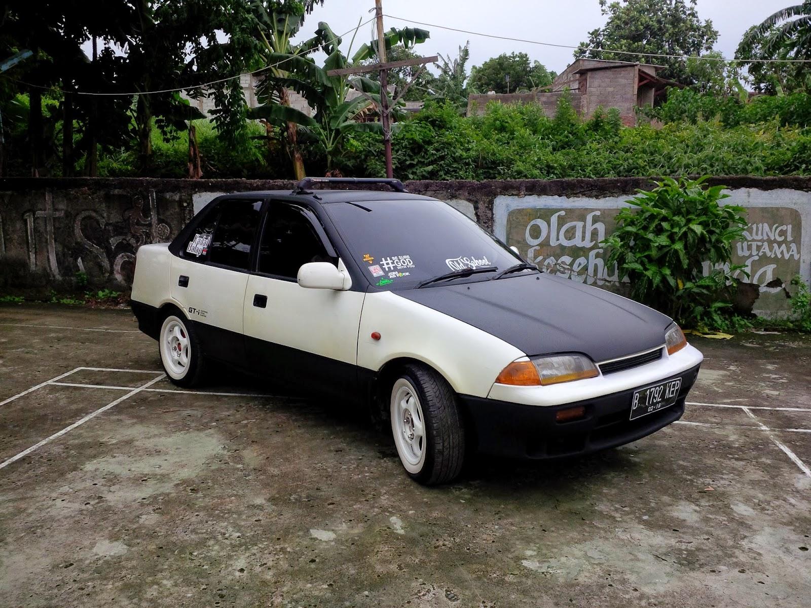 Kumpulan Modif Mobil Sedan Suzuki Esteem  Ragam Modifikasi