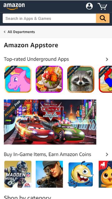 Amazon Appstore apk file