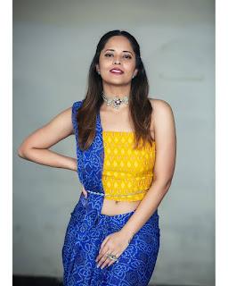 Anchor Anasuya Bharadwaj Latest Photoshoot