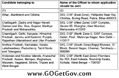 CISF Recruitment 2016: 441 Constable / Driver | 19-11-2016 | www.cisf.gov.in