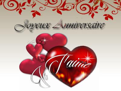 joyeux anniversaire mon chéri d'amour