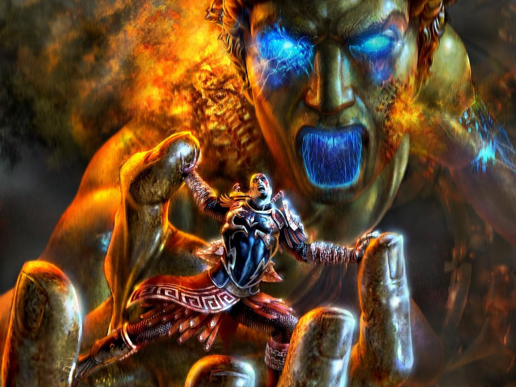 Wallpapers HD: God Of War (44) Wallpapers (Fondo de Pantalla) HD - Alta calidad (1366x768 o ...