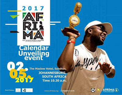 "Top African Music Stars To Attend ""AFRIMA 2017"" Calendar Unveiling"