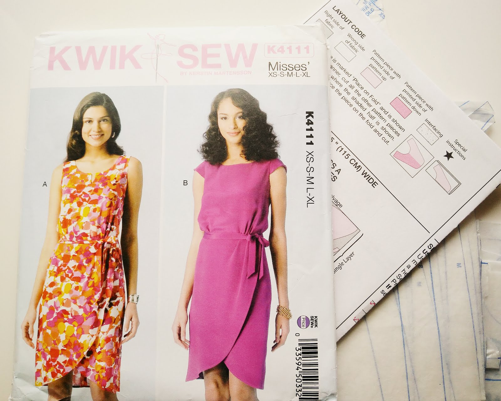 Kwik Sew K4111 pattern review