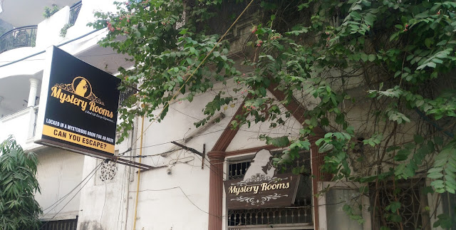 Mystery Rooms : Rajori Gardens, New Delhi