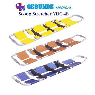 Scoop Stretcher Almunium YDC-4B