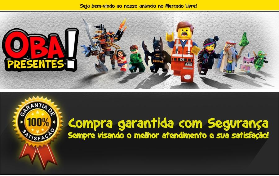 BONECO LEGO MARVEL STAR WARS DC COMICS SUPER HEROIS