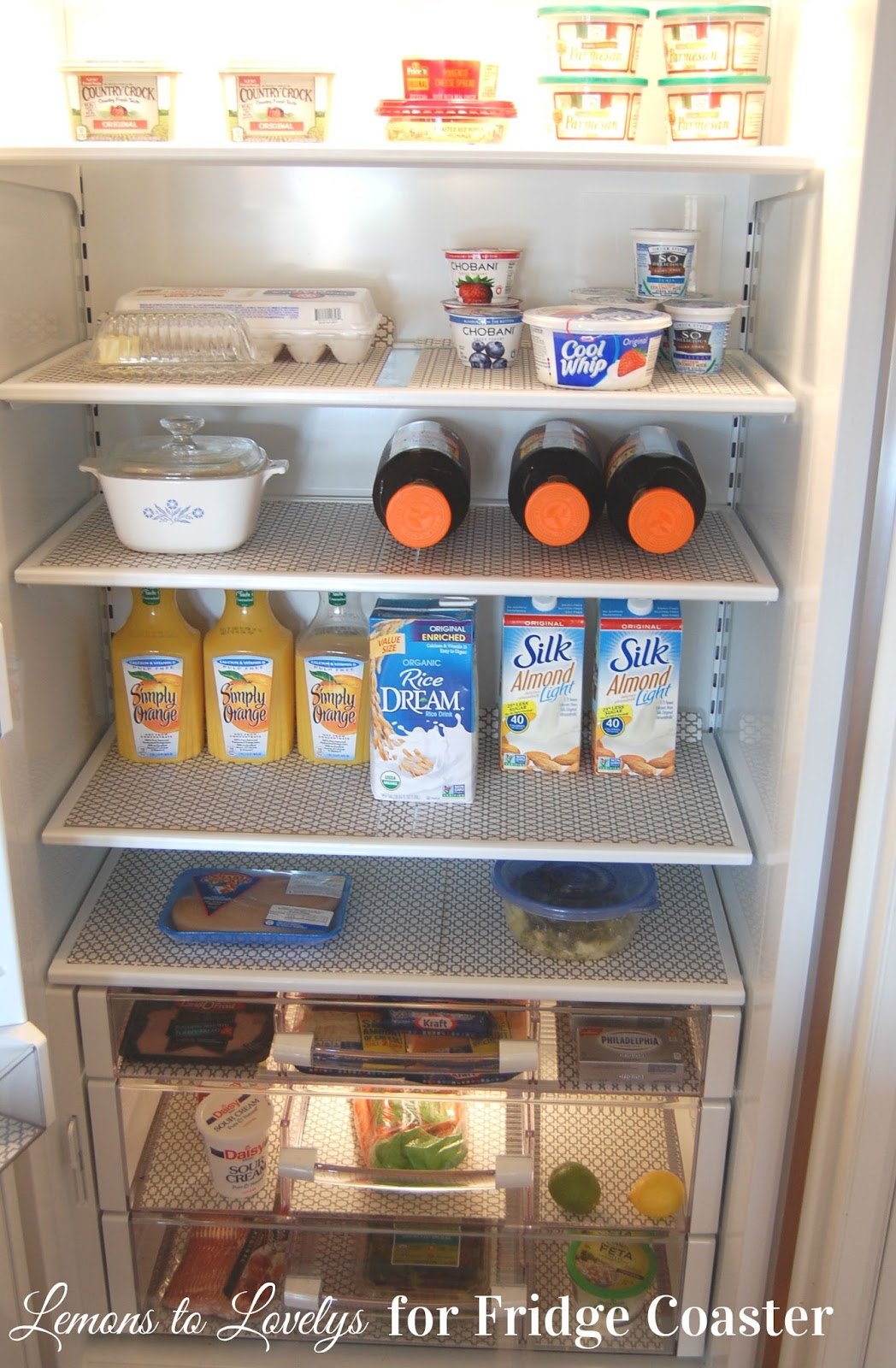 fridge kitchen save in pretty shelf liners the suburbs kapers organizing a life