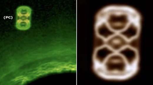 Enorme OVNI de tamaño Júpiter aparece al lado del Sol