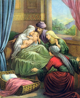 Shiphrah and Puah allow male children to live - Exodus 1:17