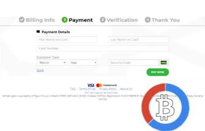 Dewasa ini investasi bitcoin masih menjadi bisnis yang paling diminati oleh para investor kamu bisa beli Bitcoin pakai kartu kredit Visa Mastercard