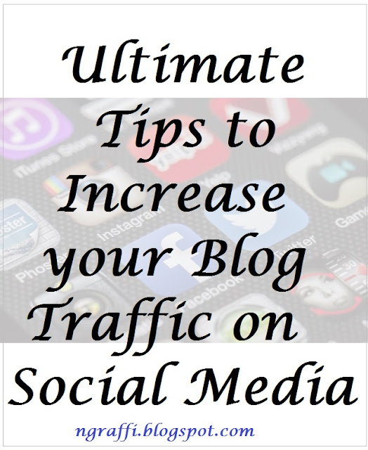 how to get traffic on your blog fromsocial media