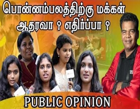 Public opinion on Bigg Boss Tamil   Bigg boss