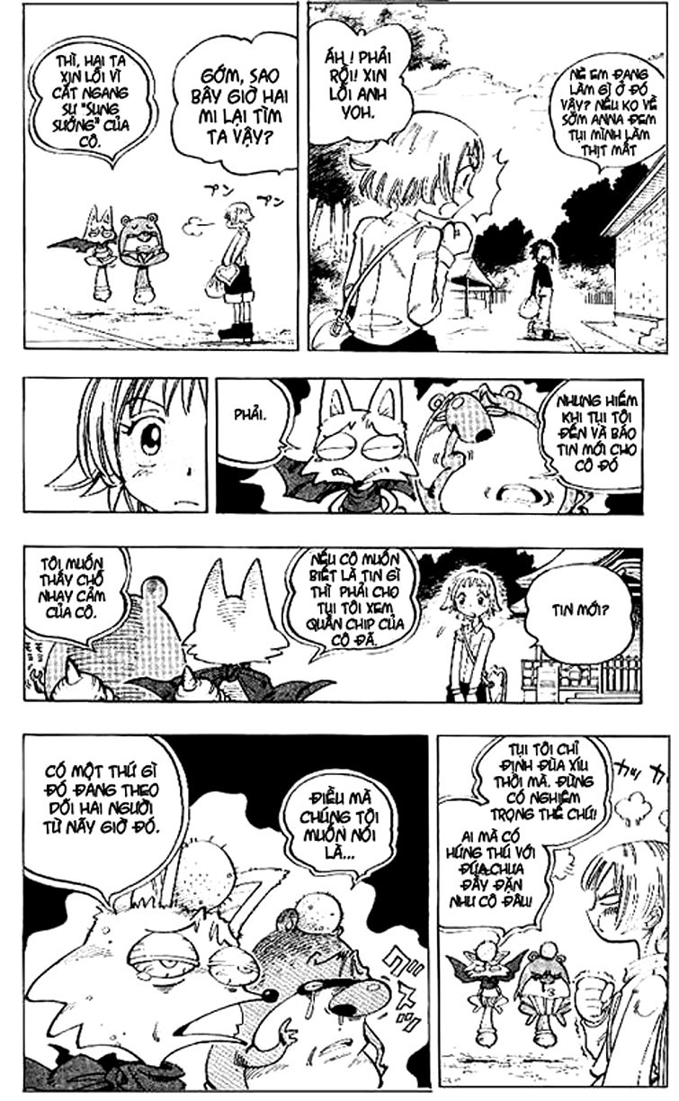 Shaman King [Vua pháp thuật] chap 66 trang 10