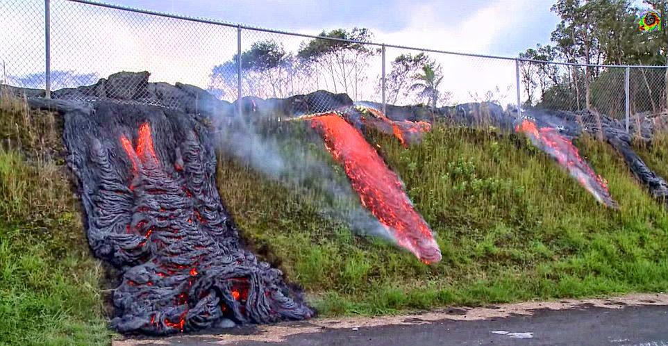 Hawaii: Faszinierende Bilder zeigen Lavastrom des Kilauea