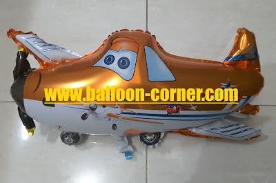 Balon Foil Karakter Dusty Plane