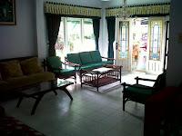 sewa villa di puncak cipanas tipe adam private1 ( 3 kamar tidur )  kolam renang pribadi