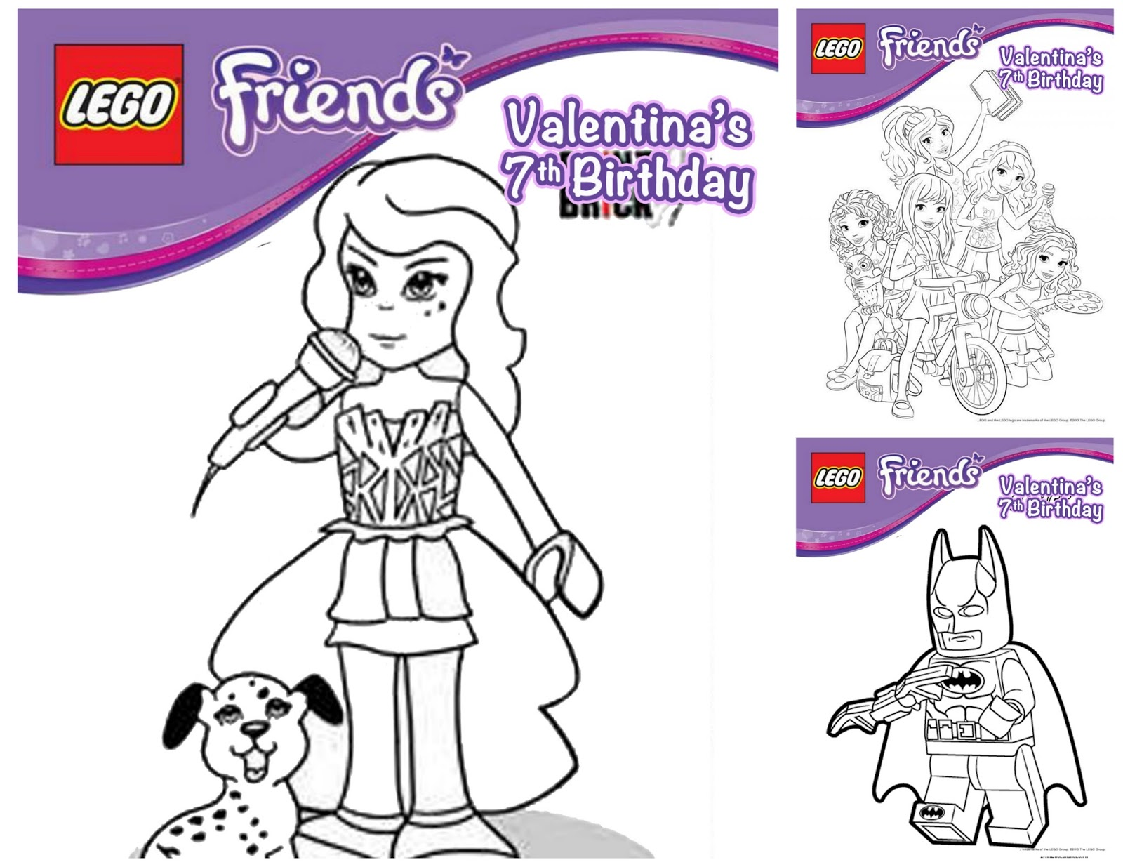 MaMa Tinas Style: Fiesta Lego Friends Party