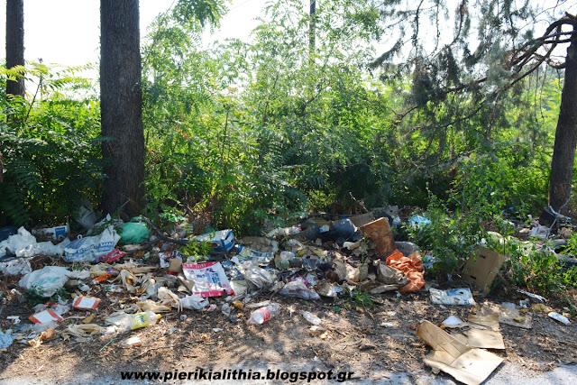 Ένας απέραντος σκουπιδότοπος...