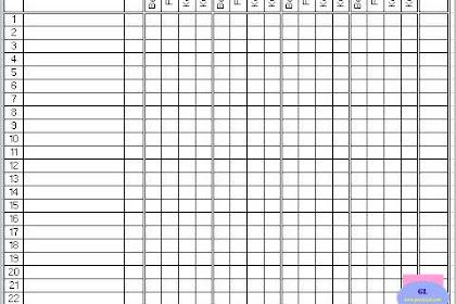 Daftar Pemeriksaan Perilaku Hidup Bersih Sehat (PHBS) Siswa SD