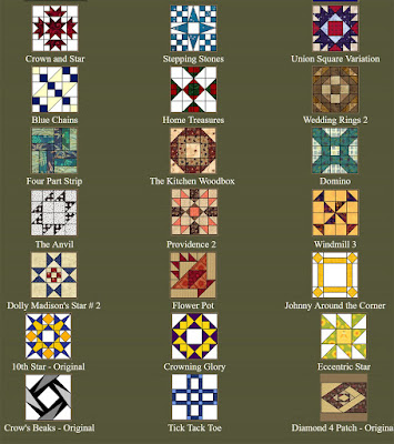 Quilter's Cache - a great resource for quilt block patterns