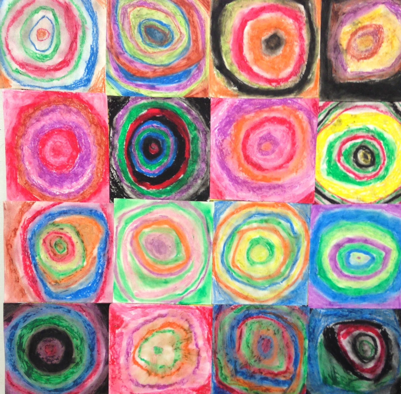3rd grade kandinsky circles