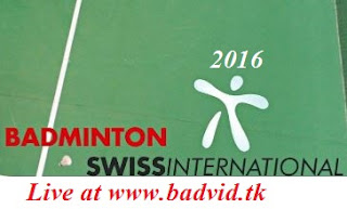 Swiss International 2016 live streaming
