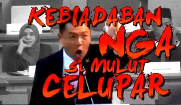 [Video] Chauvinist Cina DAP Paling Biadap dan Kurang Ajar