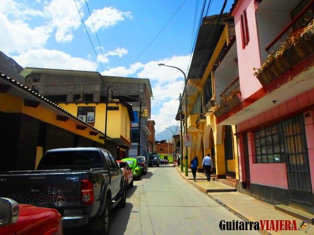 Calles de Matucana