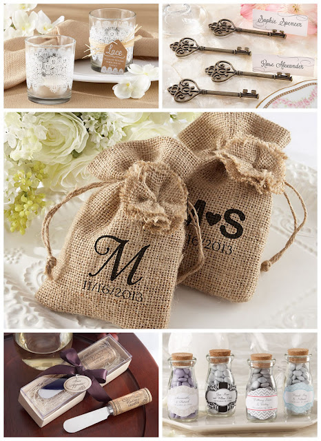 Perfect Day Wedding Favors: Vintage Wedding Theme