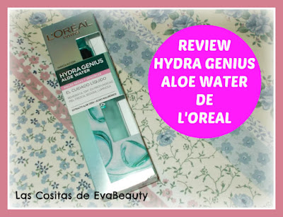 Review Hydra Genius Aloe Water de L'Oreal