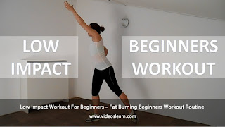 Low Impact Workout For Beginners – Fat Burning Beginners Workout Routine