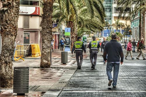 Brutal paliza de dos hombres a otro, Las Palmas de Gran Canaria