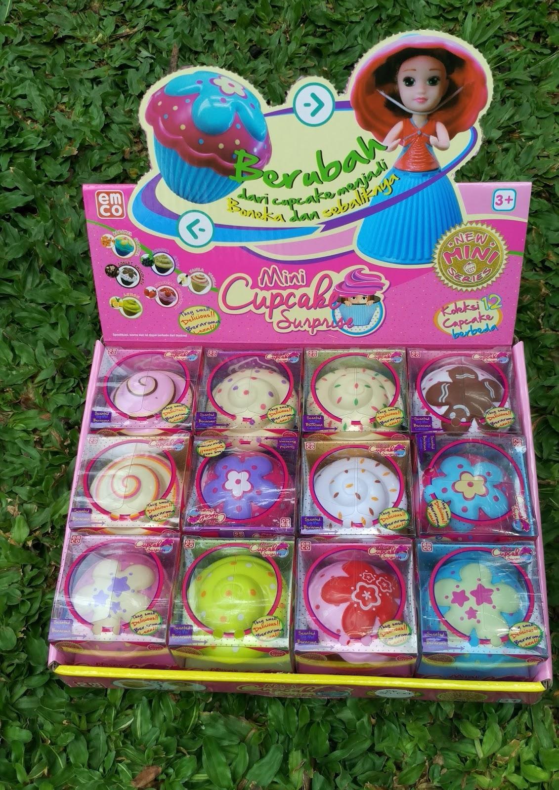 Mini cupcake surprise, cupcake surprise, mainan anak; pernak pernik anak, surprise anak, cupcake pricess, pernak pernik princess, princess collections