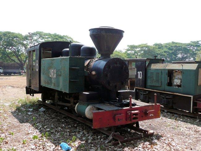 Очень маленький локомотив