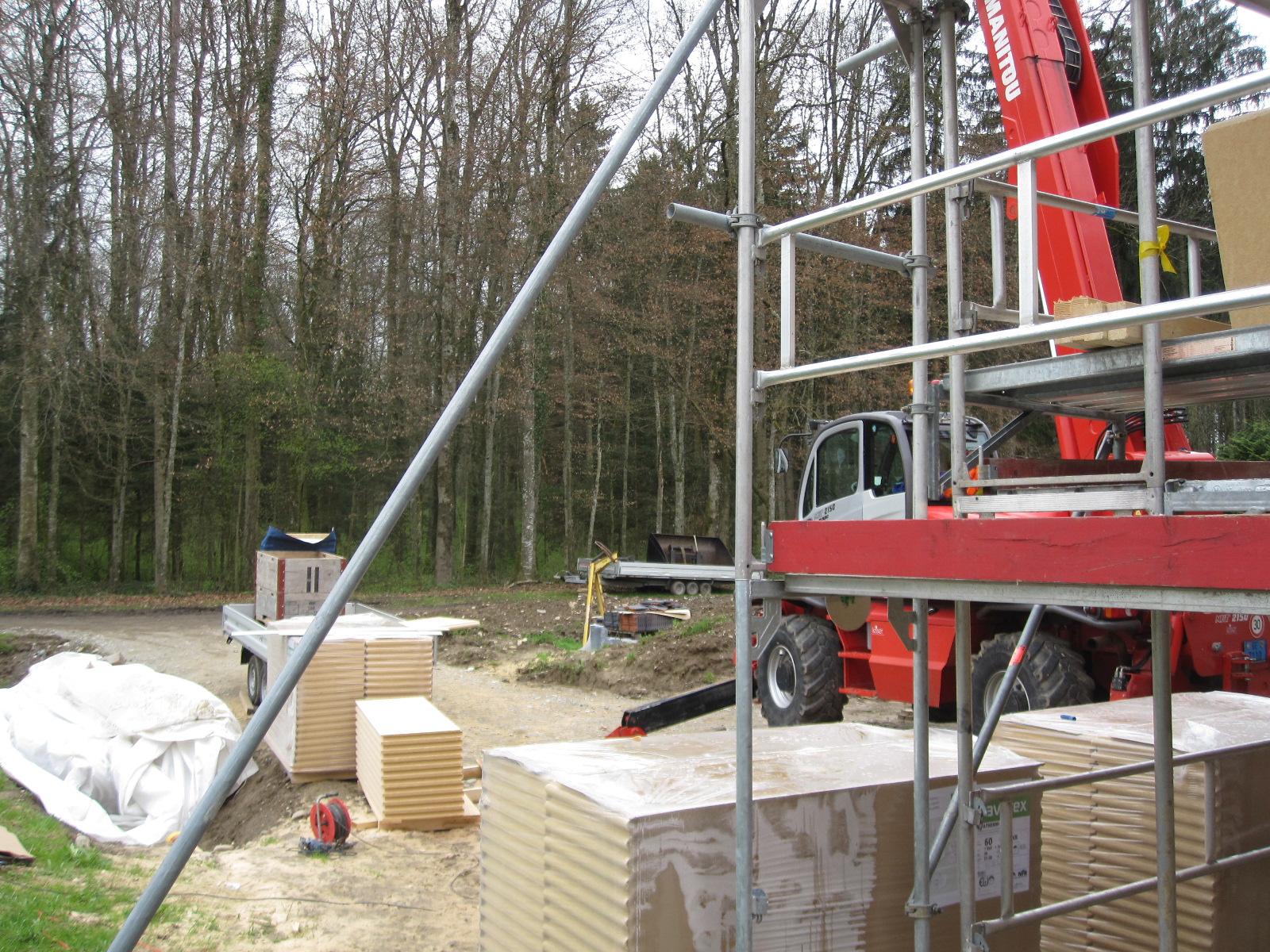 Favorit Holzhaus - wir bauen ein Haus aus Holz: Elektroinstallation IJ87