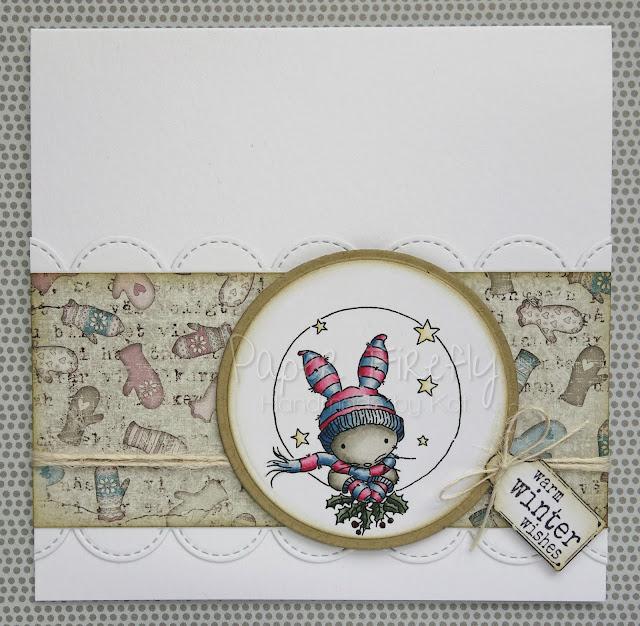 LOTV Trio bunny Christmas card