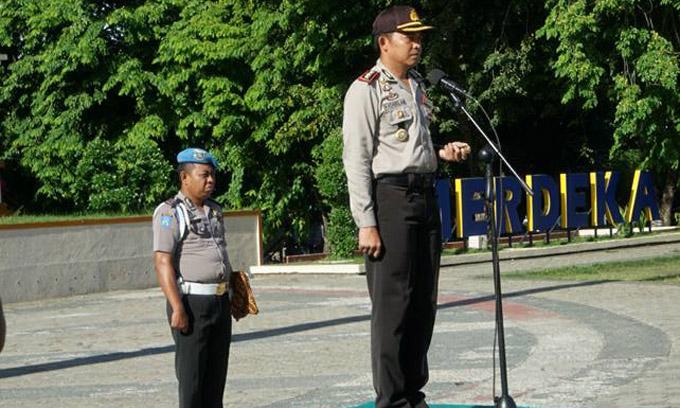Jadi Irup Bela Negara, Kapolres Bone Sampaikan Pesan Presiden Jokowi