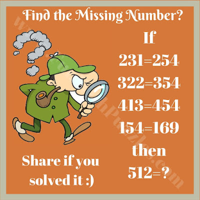 Can you solve this math logic picture puzzle?