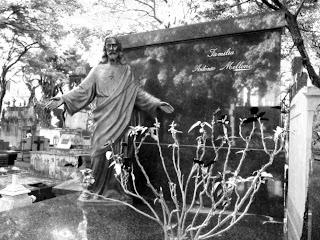Jazigo da Família Antônio Mellone no Cemitério da Consolação - São Paulo