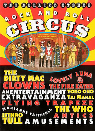 Rollingstonesvaults The Rolling Stones Rock And Roll Circus