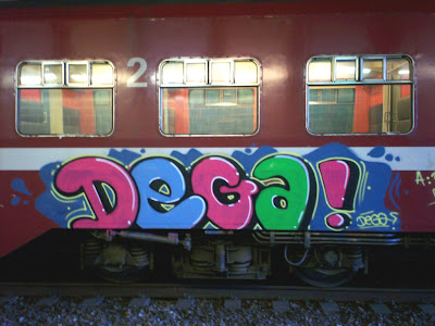 graffiti DEGA