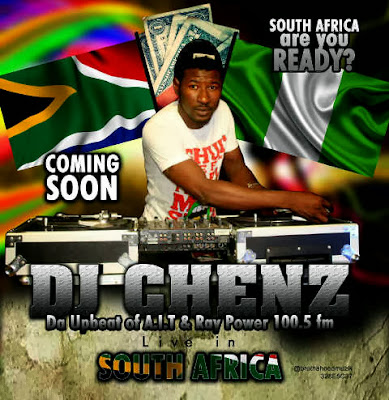 @NAIJAMUSICCITY UPDATE: Raypower FM's @DJChenz Set To Hit South Africa With His Club Tour