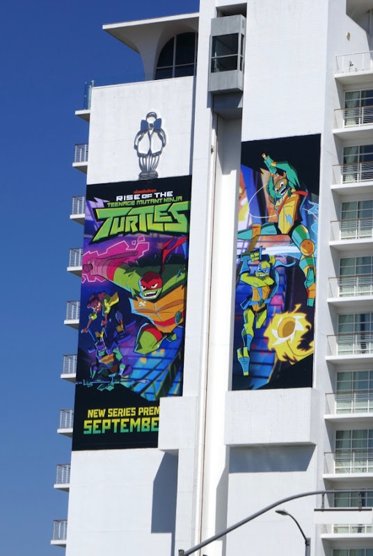 Rise of Teenage Mutant Ninja Turtles billboard