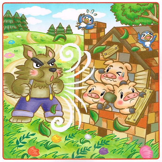 間違い探し,パズル誌,雪まつり,囲炉裏,三匹の子豚, 子どもイラスト,ファミリーイラスト,児童書,絵本, 教材イラスト,漫画