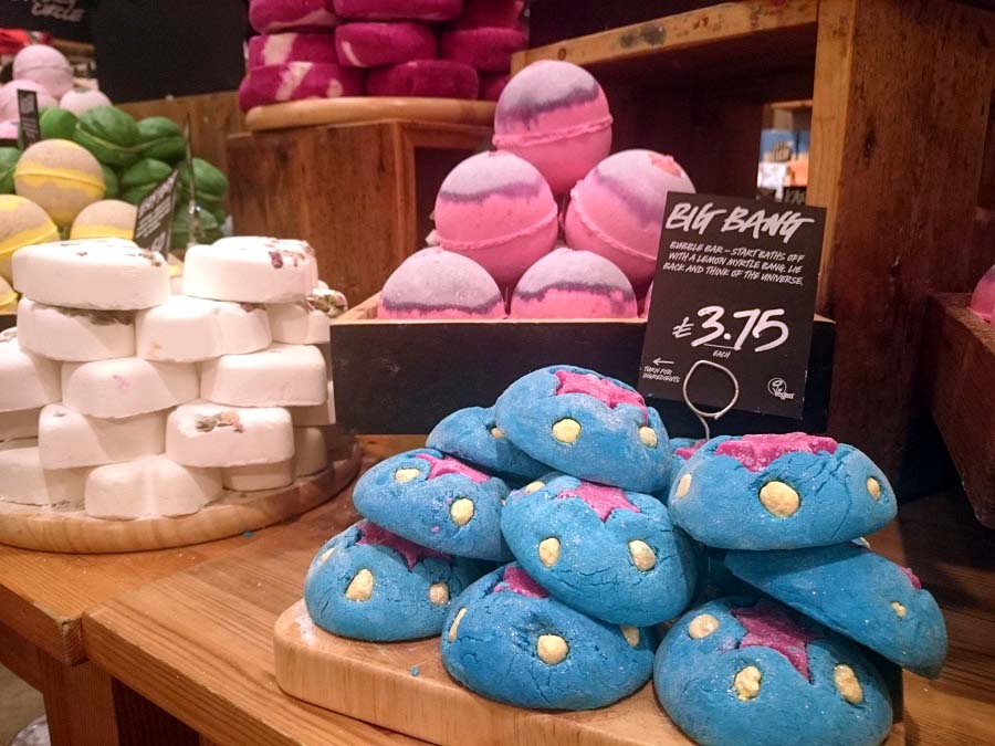 Fathers Day Gift Ideas from Lush, Lush Belfast, Lush Big Bang, The Style Guide Blog